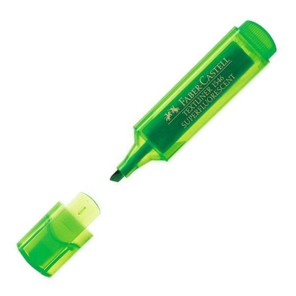 Zvýrazňovač Faber-Castell Textliner 1546 - zelený