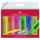 Zvýrazňovač Faber-Castell Textliner 1546 - sada 6 barev