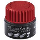 Náhradní náplň do permanentních popisovačů Faber-Castell Grip - červená