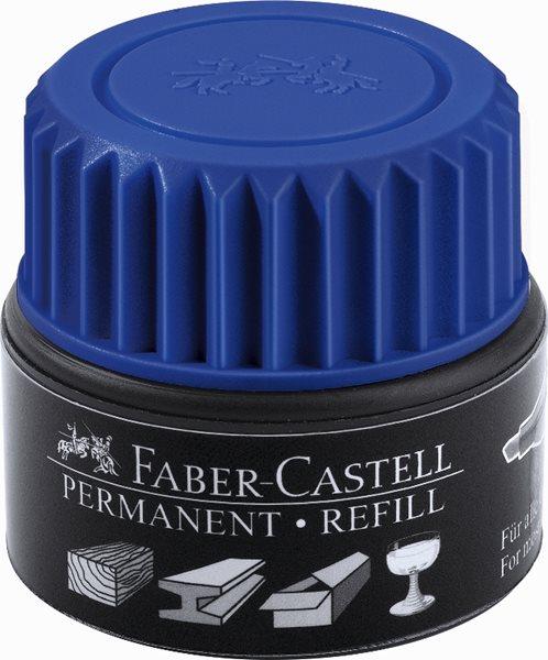Náhradní náplň do permanentních popisovačů Faber-Castell Grip - zelená