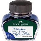 Inkoust Faber-Castell ve skleněné lahvičce 30 ml, modrá