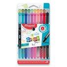 Liner MAPED Graph'Peps Deco - sada 20 barev