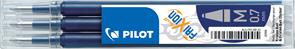 Pilot FriXion Ball 07 Náplň sada 3 ks - modročerná