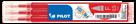 Pilot FriXion Ball 05 Náplň sada 3 ks - červená
