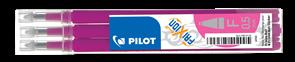 Pilot FriXion Ball 05 Náplň sada 3 ks - růžová