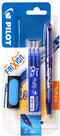 Pilot FriXion Roller BL-FR7 modrý - balení 1ks + náplně + guma