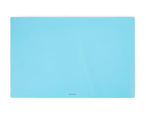 Karton PP PASTELINi Psací podložka na stůl 60 × 40 cm - modrá