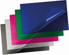 Karton PP Podložka na stůl 60x40 s odklápěcí přední stranou - modrá