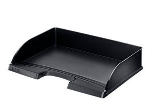 Leitz Plus Odkladač A4 na šířku - černý