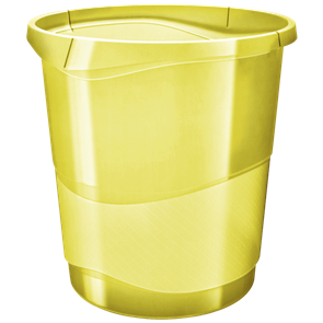 Odpadkový koš Esselte Colour'Ice 14 l. - ledově žlutá