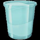 Odpadkový koš Esselte Colour'Ice 14 l. - ledově modrá