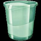 Odpadkový koš Esselte Colour'Ice 14 l. - ledově zelená