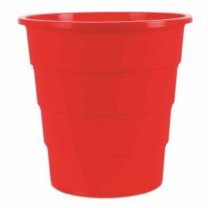 Odpadkový koš PP 16 l - červený