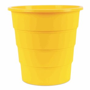 Odpadkový koš PP 16 l - žlutý