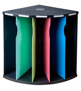 Třídící box The Corner, plastový, 5 přihrádek A4 maxi