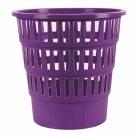 Odpadkový koš perforovaný PP 16 l - fialový