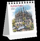 Kalendář stolní 2017 - Kutná Hora akvarel micro