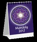 Kalendář stolní 2017 - Mandaly micro-mini