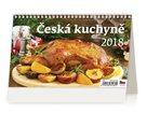 Kalendář stolní 2018 - Česká kuchyně
