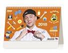 Kalendář stolní 2018 - Vychytávky Ládi Hrušky
