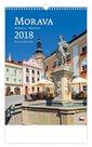 Kalendář nástěnný 2018 - Morava