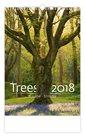 Kalendář nástěnný 2018 - Stromy - Trees