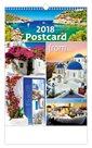 Kalendář nástěnný 2018 - Postcard from…