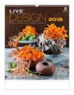 Kalendář nástěnný 2018 - Live Design