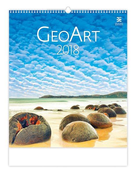 Kalendář nástěnný 2018 - Geo Art