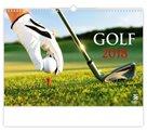 Kalendář nástěnný 2018 - Golf