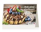 Kalendář stolní 2019 - Rok plný sladkostí