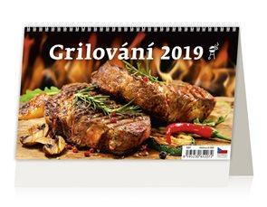 Kalendář stolní 2019 - Grilování