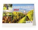 Kalendář stolní 2019 - Naši vinaři
