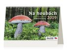 Kalendář stolní 2019 - Na houbách