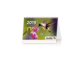 Kalendář stolní 2019 - MINI 14denní kalendář