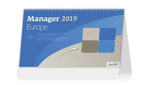 Kalendář stolní 2019 - Manager Europe