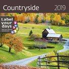 Kalendář nástěnný 2019 Label your days - Countryside