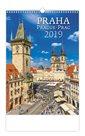 Kalendář nástěnný 2019 - Praha