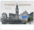 Kalendář nástěnný 2019 - Pražské proměny
