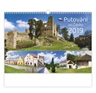 Kalendář nástěnný 2019 - Putování po Česku