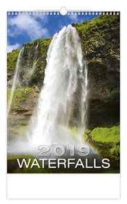 Kalendář nástěnný 2019 - Waterfalls