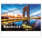 Kalendář nástěnný 2019 - Bridges
