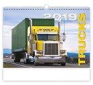 Kalendář nástěnný 2019 - Trucks