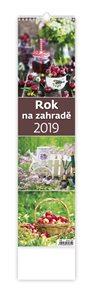 Kalendář nástěnný 2019 - Rok na zahradě