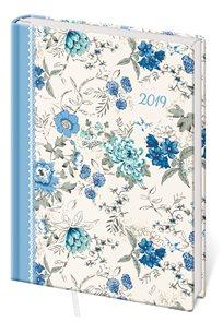 Stil Diář 2019 LYRA A5 denní - Flower / květiny