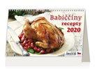 Kalendář stolní 2020 - Babiččiny recepty