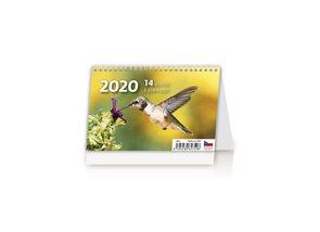 Kalendář stolní 2020 - MINI 14denní