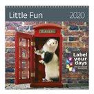 Kalendář nástěnný 2020 Label your days - Little Fun