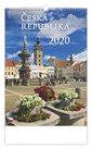 Kalendář nástěnný 2020 - Česká republika/Czech Rupublic/Tschechische Republik