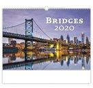 Kalendář nástěnný 2020 - Bridges